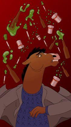 four kinds of poison Cartoon Art, Cartoon Characters, Fictional Characters, Bojack Horseman, Great Memes, Alternative Art, Sad Art, Adult Cartoons, Animation Series