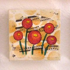 poppy fields mixed media painting art by Tremundo by tremundo