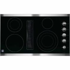 "44123 36"" Downdraft Electric Cooktop - Stainless Steel - Sears"