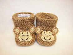 6b81e3ad7aa Crochet Baby Animal Hat Pattern - Baby Montgomery the Monkey Critter ...