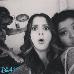 Austin & Ally Cast Filmed Their 1st Episode of Season 3 umm... anyone else notice the dog?? PHOTO BOMBER XDD