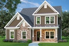 Really Like First Floor: 998 sq. ft.  Two-Story Family Room - 75453GB   2nd Floor Master Suite, Butler Walk-in Pantry, CAD Available, MBR Sitting Area, Narrow Lot, PDF, Traditional   Architectural Designs