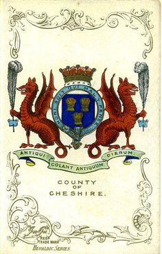 Heraldry- County of Cheshire