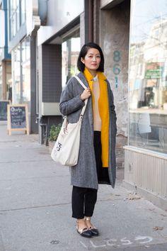 Moda en la calle en Toronto, noviembre 2013 © Inma Varandela