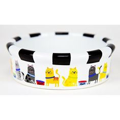 Signature Housewares Whiskers Cat Bowl, Extra Small * See this great product. (This is an affiliate link) #Cats