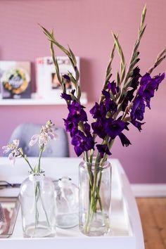 gelb lila wohnzimmer wandfarben kombinieren komplementärfarben, Hause ideen