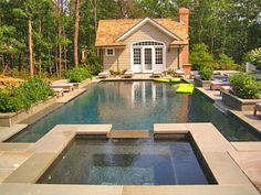 Town & Country Real Estate - Water Mill #townandcountry #summer #pool