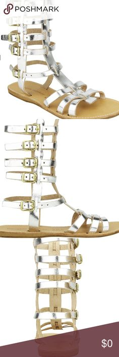 NEW Naughty Monkey Tall Gladiator Sandal S 7 8 9 New NIB Retail $59. Naughty Monkey - Bring the gladiator out in you with these fun fashionable sandals that are great to wear with capris, shorts, skirts, rompers, and more! 741 A fun tall gladiator sandal in style. Made in Greece and ready to accessorize your closet. Festival spring summer casual attire beach cruise pool date night girls night out day wear shoes Anklets Available in size 7 8 or 9. Naughty Monkey Shoes Sandals