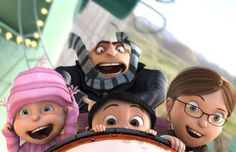 Despicable Me                                               ~ three little girls named Margo, Edith and Agnes