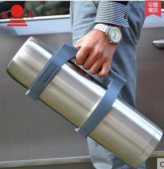 46.34$  Watch here - http://ali99h.shopchina.info/1/go.php?t=32688300786 - Stainless steel thermal pot large capacity car travel kettle outdoor travel thermos thermos bottle 3.2L home  #buymethat