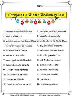 Spanish gustar infinitive verbs and indirect object pronouns spanish christmas worksheets and conversation cards spiritdancerdesigns