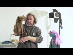 How to be a puppeteer - with Patsy May - YouTube