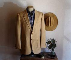 70s WRANGLER Western Suit Jacket Mens by TheNakedManVintage, $24.99
