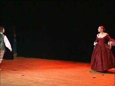 Danse baroque - Bourrée et menuet d'Achille
