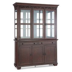 Delmont 2-Piece China Cabinet - China Cabinets & Curios ...