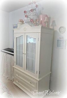 Lovely shabby armoire
