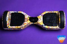 EMOJI hoverboard custom vinyl wrap skin decal sticker