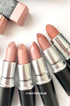 Lipstick Names, Mac Lipstick Shades, Mac Lipstick Colors, Best Mac Lipstick, Mac Lipstick Swatches, Sheer Lipstick, Mac Matte Lipstick, Lip Colors, Mac Lipsticks