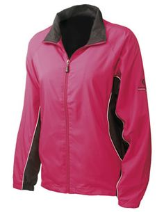 Sunderland Golf Ladies Amalfi Wind Jacket Desire/Black The newamp