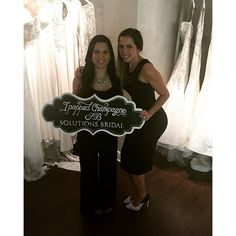Congratulations to our newest beautiful #Solutionsbride for saying yes to the dress and popping champagne with us!!! #solutionsbridal #SBstylist @adriimedina