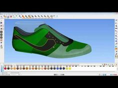 How to Use 3D Shoe Design Software - ShoeMaker 2013 - YouTube