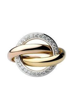 Cartier Trinity Ring. I love this ring. It's on my Christmas list ;)