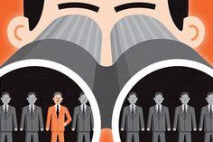 I Spy, Human Resources, Close Up, Illustration, Image, Illustrations
