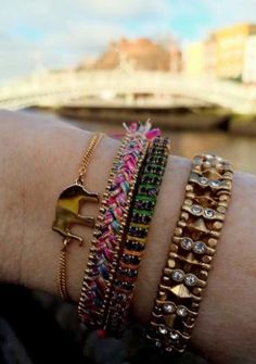 Check out how some of our friends in Dublin, Ireland, have styled the Visionary Bracelet in support of Autism Awareness and get inspired to create your own visionary arm party!
