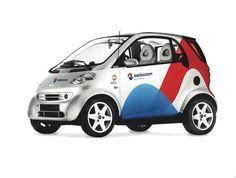 Swisscom – Visual Identity Car Design by Moving Brands