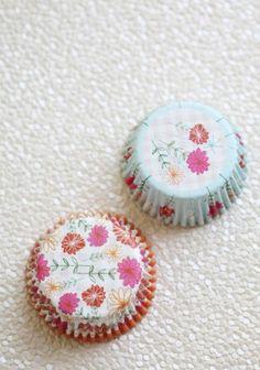 Fanciful Flower Cupcake Liners By Meri Meri