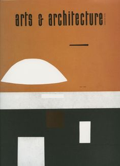 Arts Architecture Magazine Cover 1953