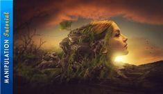 Photoshop Manipulation Tutorial Surrealism Photo Effect - YouTube