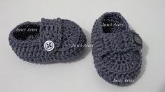 enfeites de croche para sapatinho de bebe - Pesquisa Google