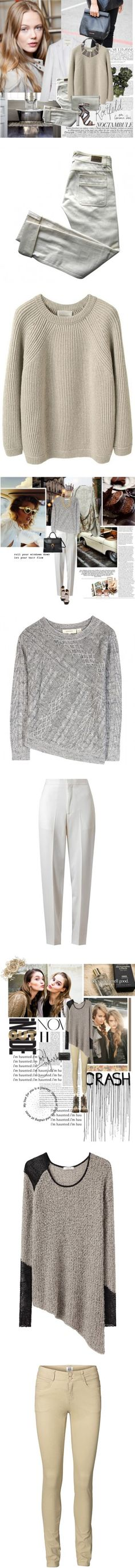 """Neutral Territory"" by polyvore-editorial on Polyvore"