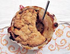 Old fashioned ginger apple pandowdy