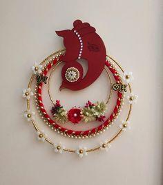 All Craft, Craft Stick Crafts, Yarn Crafts, Decor Crafts, Crafts For Kids, Diy Crafts, Diwali Decorations, Festival Decorations, House Decorations