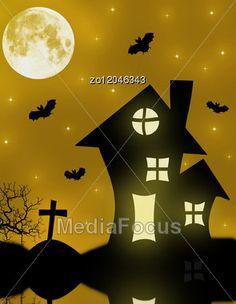 Halloween Spooky House Stock Photo #halloween #halloweenimages