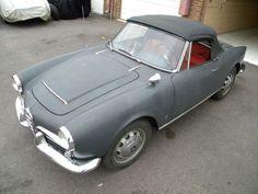 Highly Original: Mechanically Sorted 1963 Alfa Romeo Giulia 1600 Spider