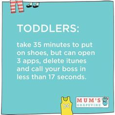 Via @mumsgrapevine. #truth #lifewithtoddler #ParentingHumor