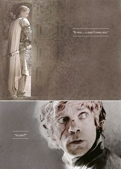 Jaime Lannister and Tyrion Lannister