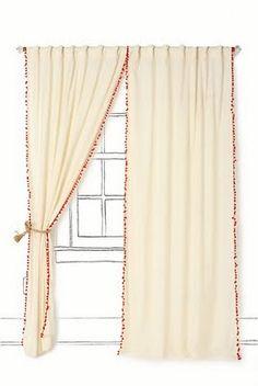 Adventures in Dressmaking: My easy curtain method tutorial