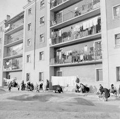 Archivo fotográfico de la Comunidad de Madrid 1965. latina. paisaje urbano