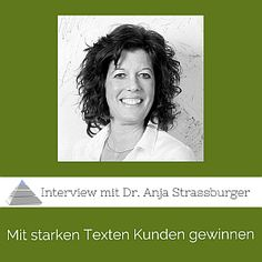 """PP012 Mit starken Texten im Internet Kunden gewinnen: Interview mit Dr. Anja Strassburger [Podcast] - Spannendes Interview mit Dr. Anja Strassburger: Wie überzeugen wir unsere Leser, dass es """"klick"""" macht? Hier veranschaulicht Anja die schlimmsten Text-Sünden und wie wir Kunden mit Internettexten überzeugen. Hier gibt es zwei konkreten Übungen, um die eigene Website zu verbessern."""
