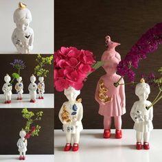 ★  Weer op voorraad! De special mini popjes Open Mind ! Mooi als kunstwerkje  in je interieur maar helemaal mooi als vaasje voor een enkel bloemetje uit het hart!  Uniek: Alleen bij Studiodewinkel te koop!!  *check voor prijs & meer info--> http://www.studiodewinkel.nl/wonen/?_globalsearch=lammers  ★ Back on stock ! Special Open Mind doll Pretty as art object in your home, but also quite nice as vase for a single flower from the heart!  Unique: Specialy designed for us. Only sold here at…