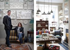 Ben Pentreath | Bloomsbury/Russell Square: a petite boutique just off Lamb's Conduit Street packed with antiques, second-hand books, kitchenware, stationery, cushions, candles and unusual presents.