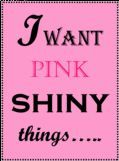 Pink & bling is perfect!!