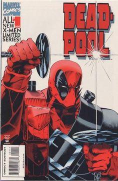 Deadpool # 1 by Ian Churchill