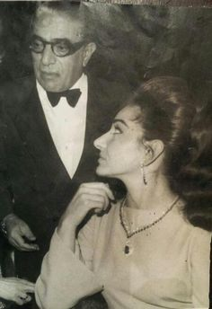 Aristotle Onassis and Maria Callas in Lefkada ~1964