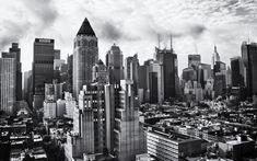 Gotham City Skyline Snapshots For Sore Eyes