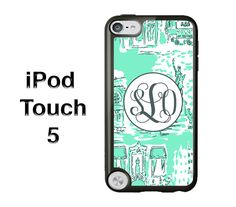Lilly Pulitzer iPod Case  Monogram iPod Case  iPod Touch 5